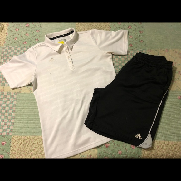 polo et short adidas